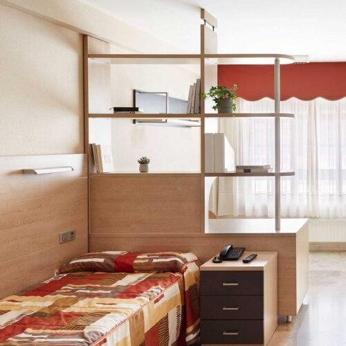 Rialta habitación individual cocina
