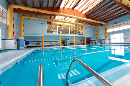 Indoor heated<br /> pool